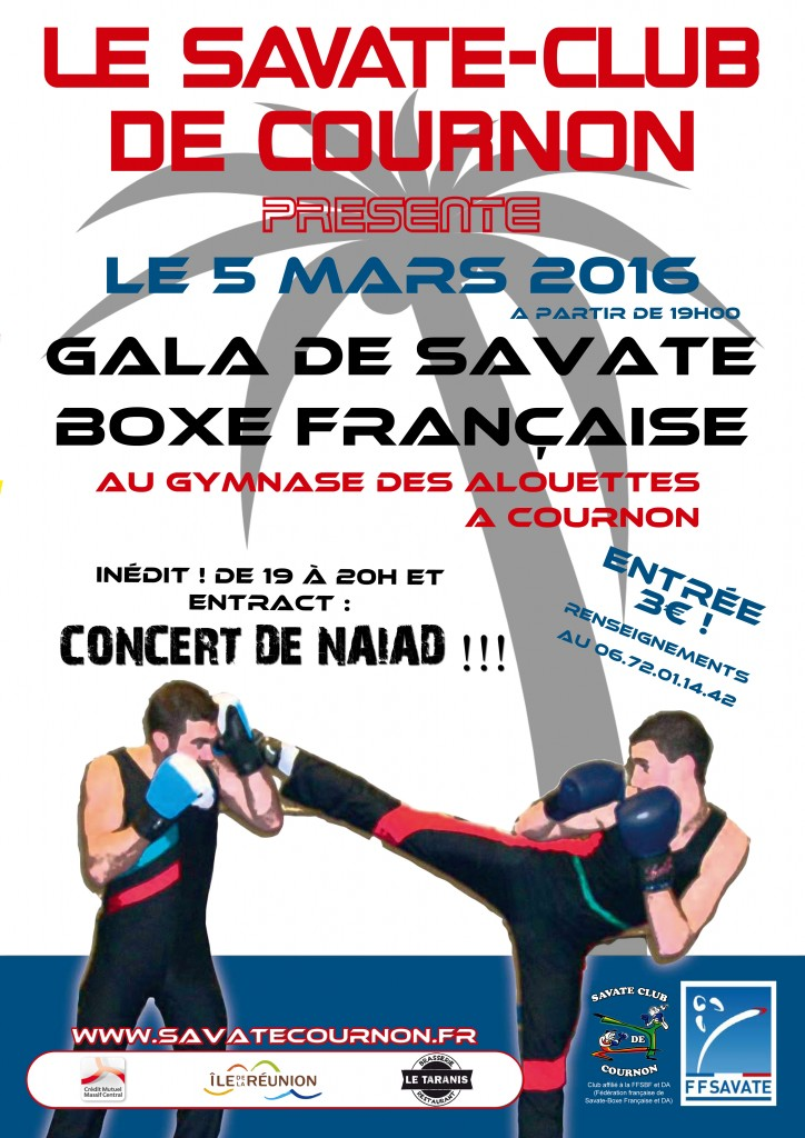 gala du savate club de cournon le 5 mars 2016 savate. Black Bedroom Furniture Sets. Home Design Ideas